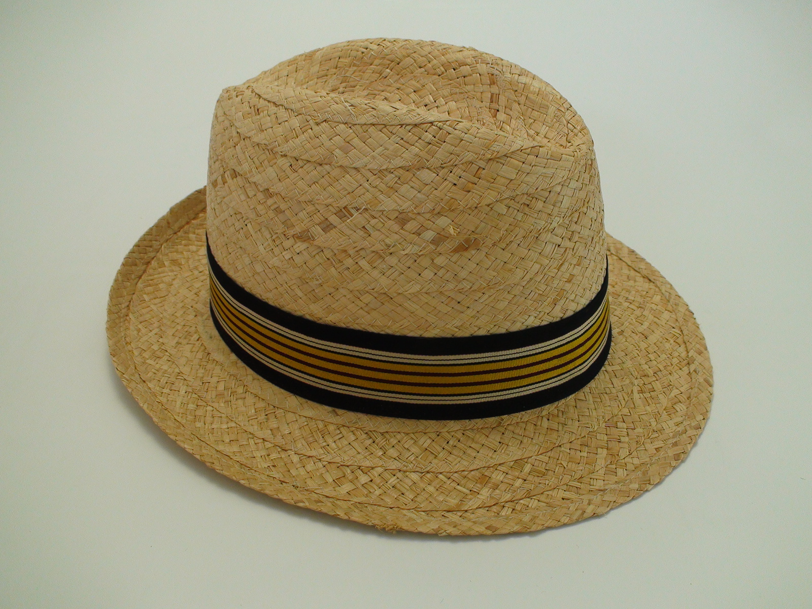 Biltmore Hats Optimo Natural Raffia Panama Fedora Hat 3ea643c748a6