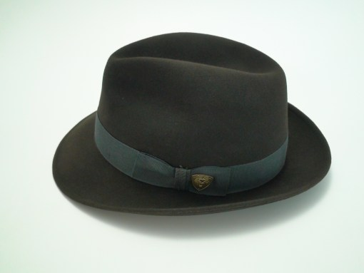 Dobbs Fifth Avenue Nitro Graphite Fur Felt Fedora Hat