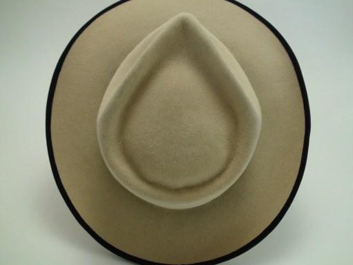 The Casablanca Custom Made Fur Felt Fedora Movie Hat