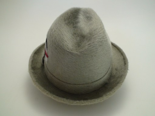 Stetson The Playboy Canadian Beaver De Luxe Finish Silver Fedora Hat