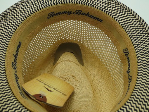Tommy Bahama 100% Panama Natural Straw Fedora Hat