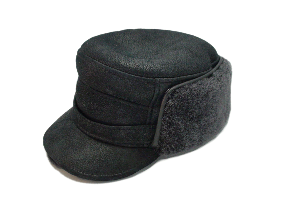 Ricardo Sheepskin Winter Captain Hat - Bernard Hats 8bab6d4ed4f8