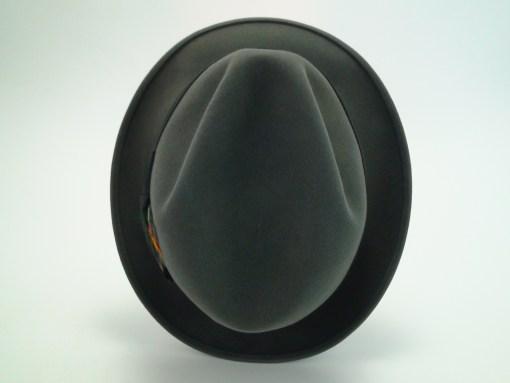 Stetson 3X Beaver Grey Fedora Quality Fur Felt Hat