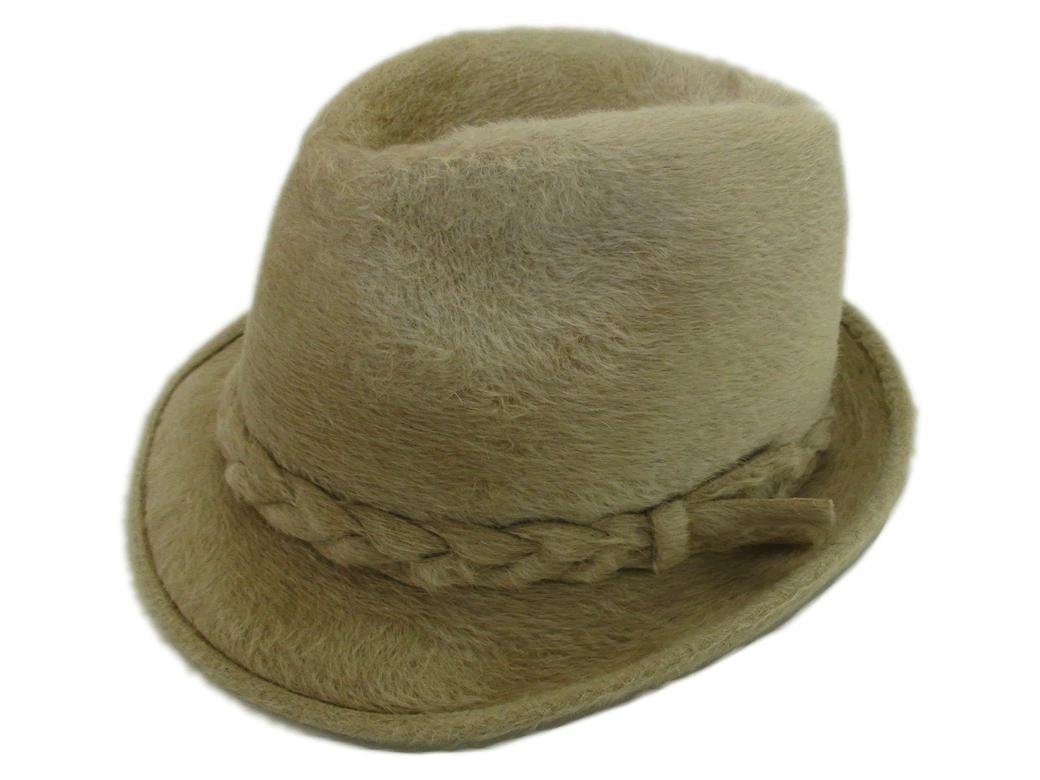 Biltmore Hats Canadian Club Ivory Beaver Fur Felt Fedora Hat 6c7fad34561b