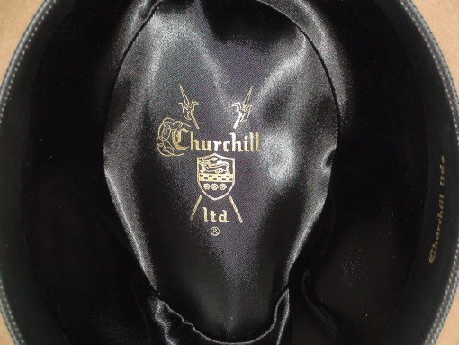 Churchill Hats Fedora Tobacco Brown Fur Felt Hat