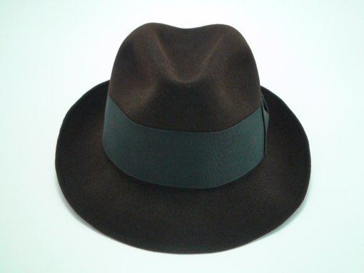 Resistol Fedora 3X Beaver Brown Krushable Fur Felt Hat