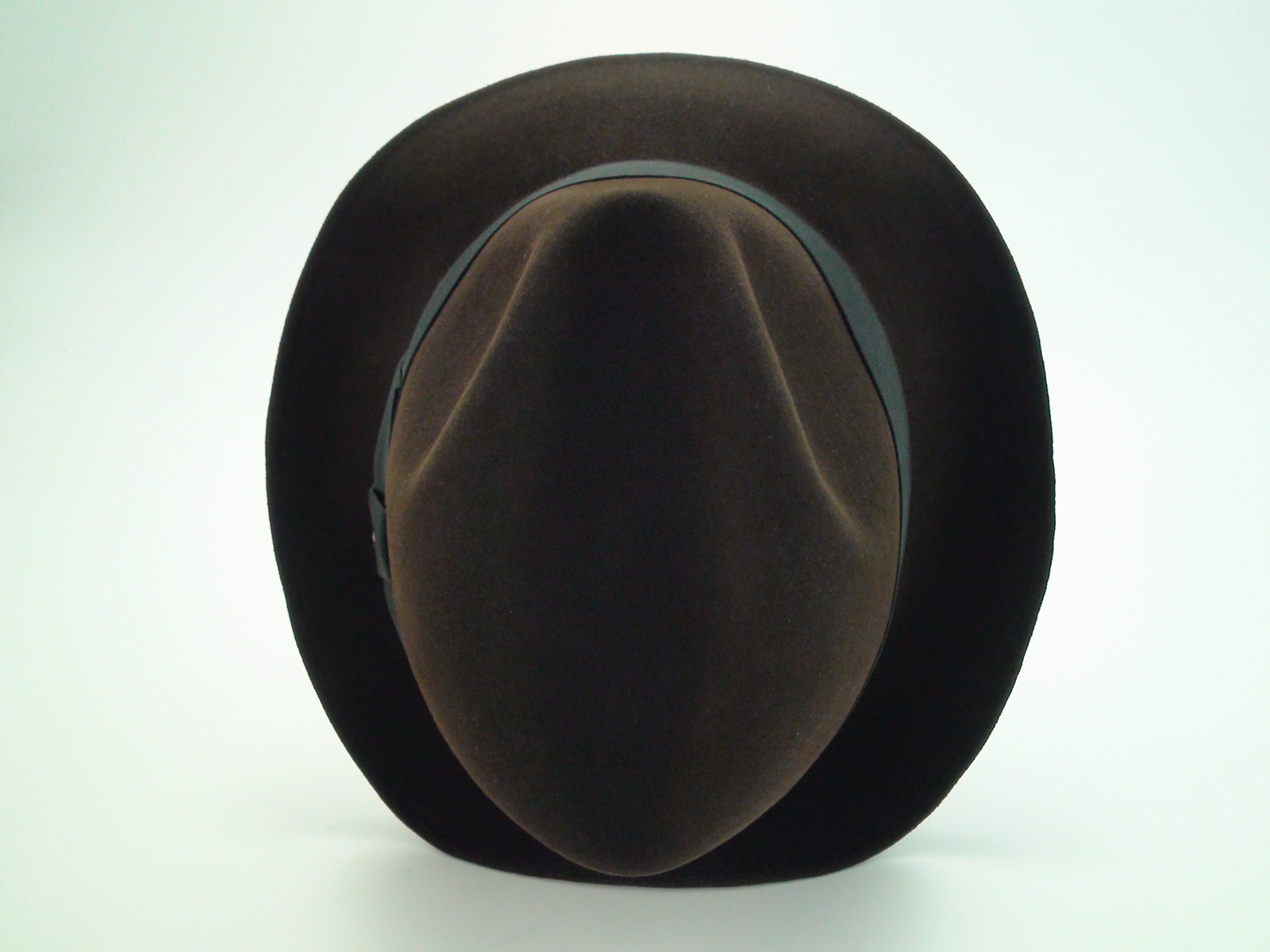 b0f5430056bee Resistol Fedora 3X Beaver Brown Krushable Fur Felt Hat