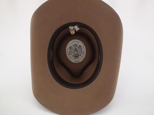 Akubra Hats Snowy River Fawn Brown Australian Cowboy Hat