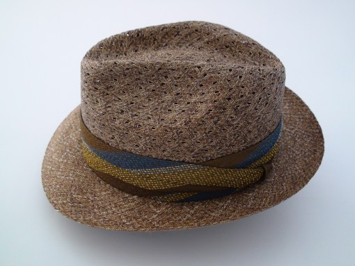 Biltmore Hats Natural Straw Fedora Hat