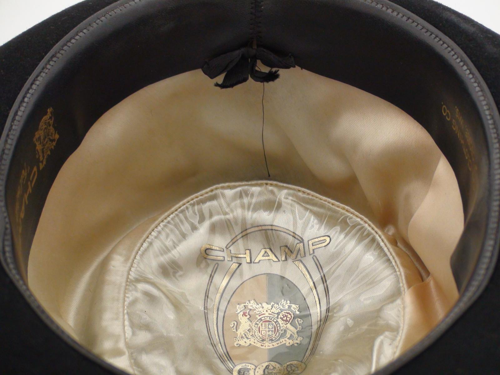 44380f30806 Champ Hats Fedora Black Feel The Felt Trilby Hat