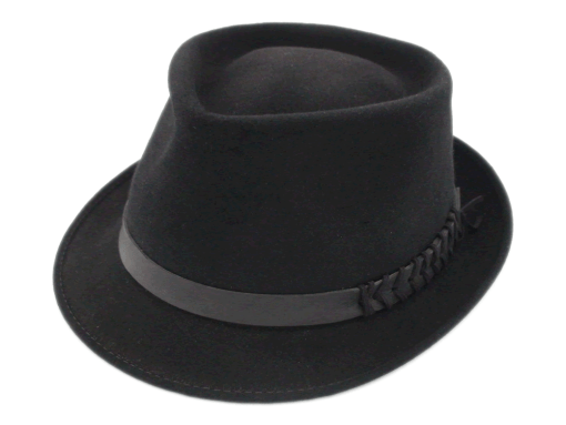 Champ Hats Fedora Black Feel The Felt Trilby Hat