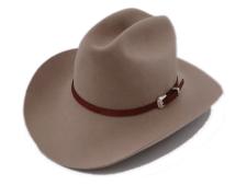 Stetson Marshall 4X Beaver Silverbelly Fur Felt Cowboy Hat