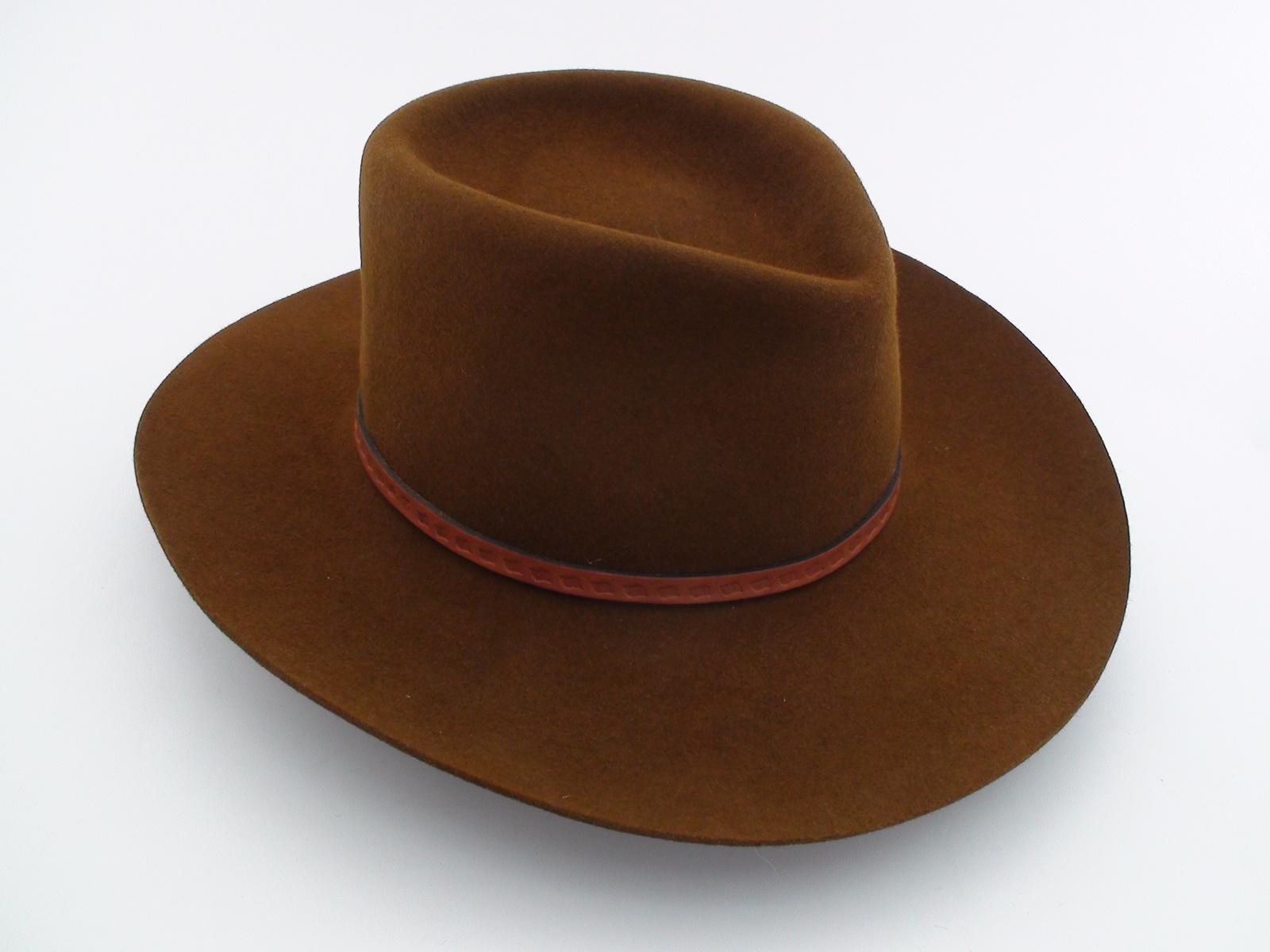 smithbilt hats brown fur
