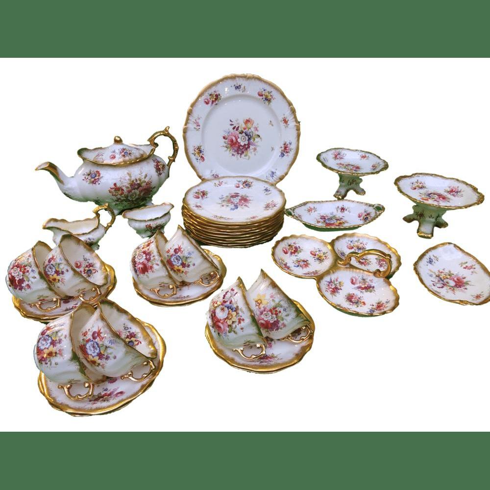 Hammersley Lady Patricia Tea Service for 8  Bernardis