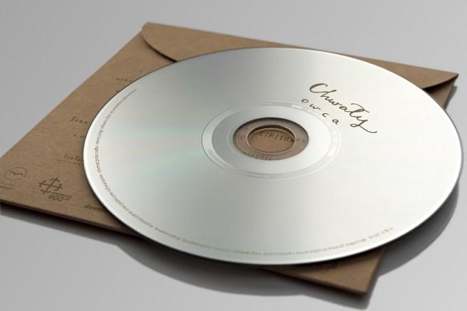 Płyta CD Audio w kopercie kartonowej Chwały - Owca. Edycja przedpremierowa, limitowana. Produkt firmy CZTERYnaCZTERY.com.pl Sp. z o.o. Wydawca: Fundacja MALAK.