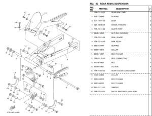 Kerusakan Bearing Swing Arm Yamaha New Vixion
