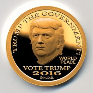 Gold Trump Dollar