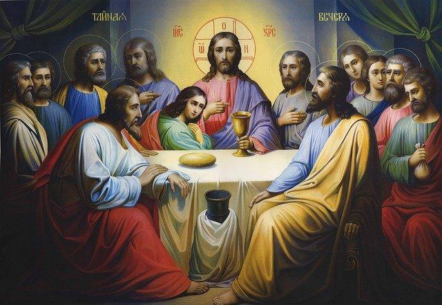 Msza Wieczerzy Pańskiej w klasztorze Ojców Bernardynów w Piotrkowie Trybunalskim
