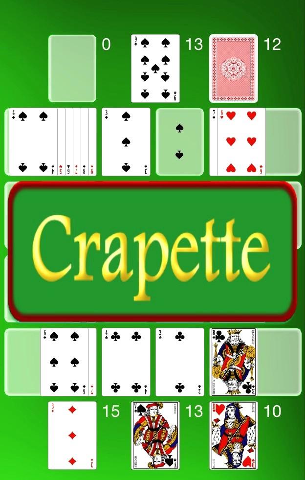 Jeu De La Crapette : crapette, Crapette, Carte