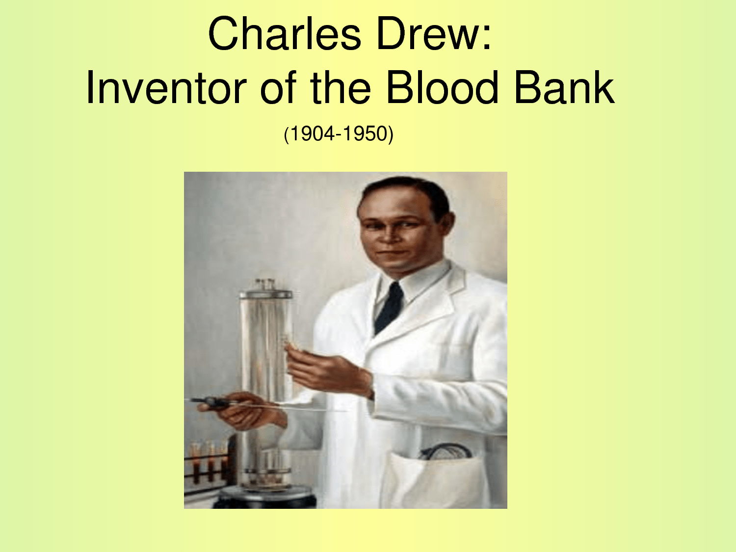 Earliest Blood Banks Separated Blood By Race And Yet