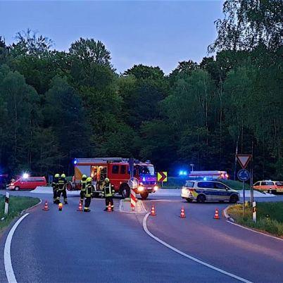 Schwere Verkehrsunfälle und Wohnungsbrand in Bernau-Süd