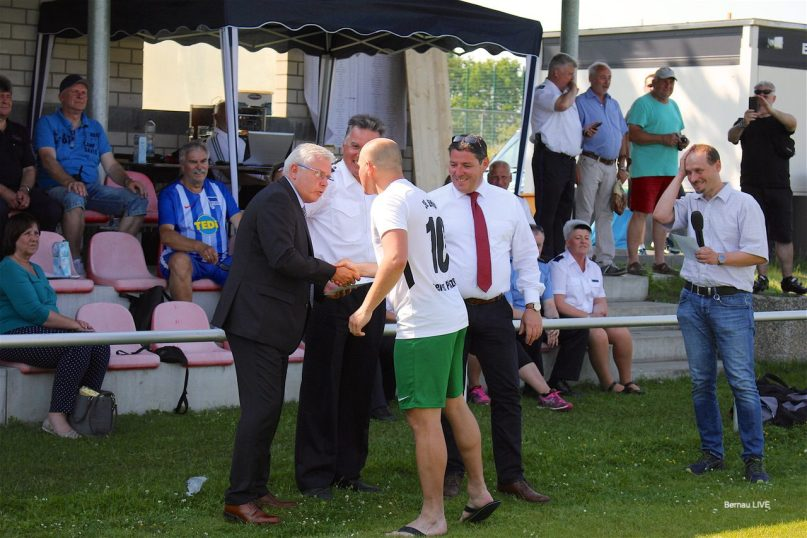 2. Polizeifußballturnier um den Pokal des Bürgermeisters der Stadt Bernau
