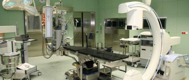 Ein Zehntel der Krankenhäuser ist von Insolvenz bedroht.