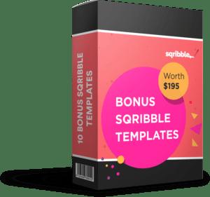 Bonus Sqribble Templates