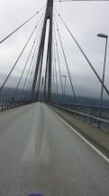 Die Helgelandbrücke. Sehr imposant.