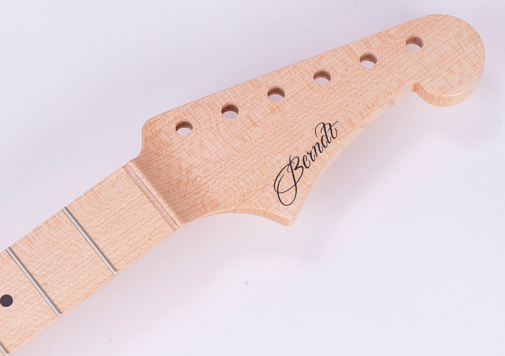 Quarter Sawn Maple Neck