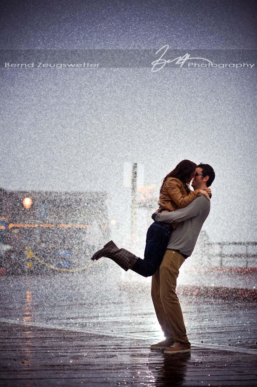 Rain Portrait Photography