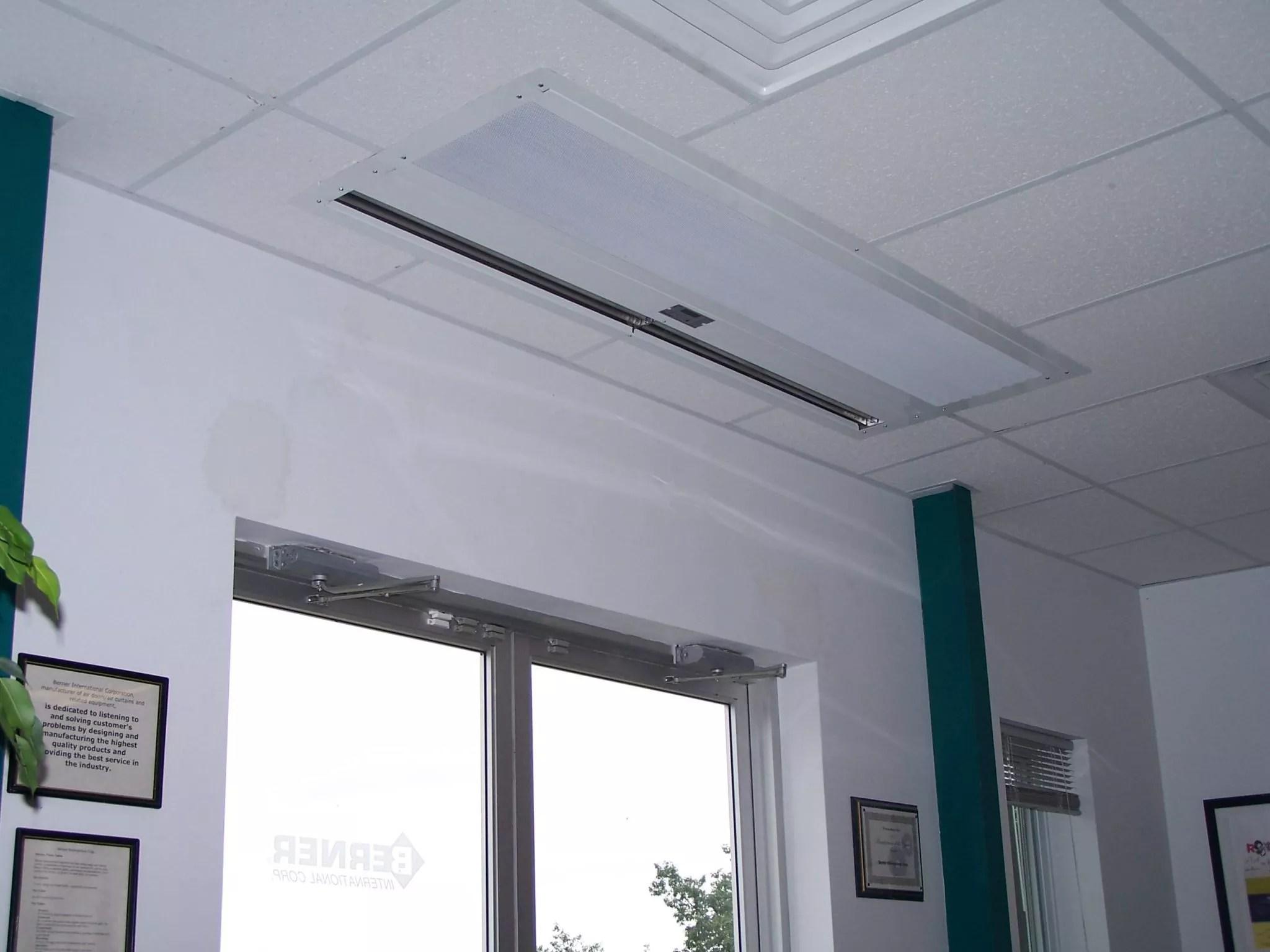 Air Curtain Cooler