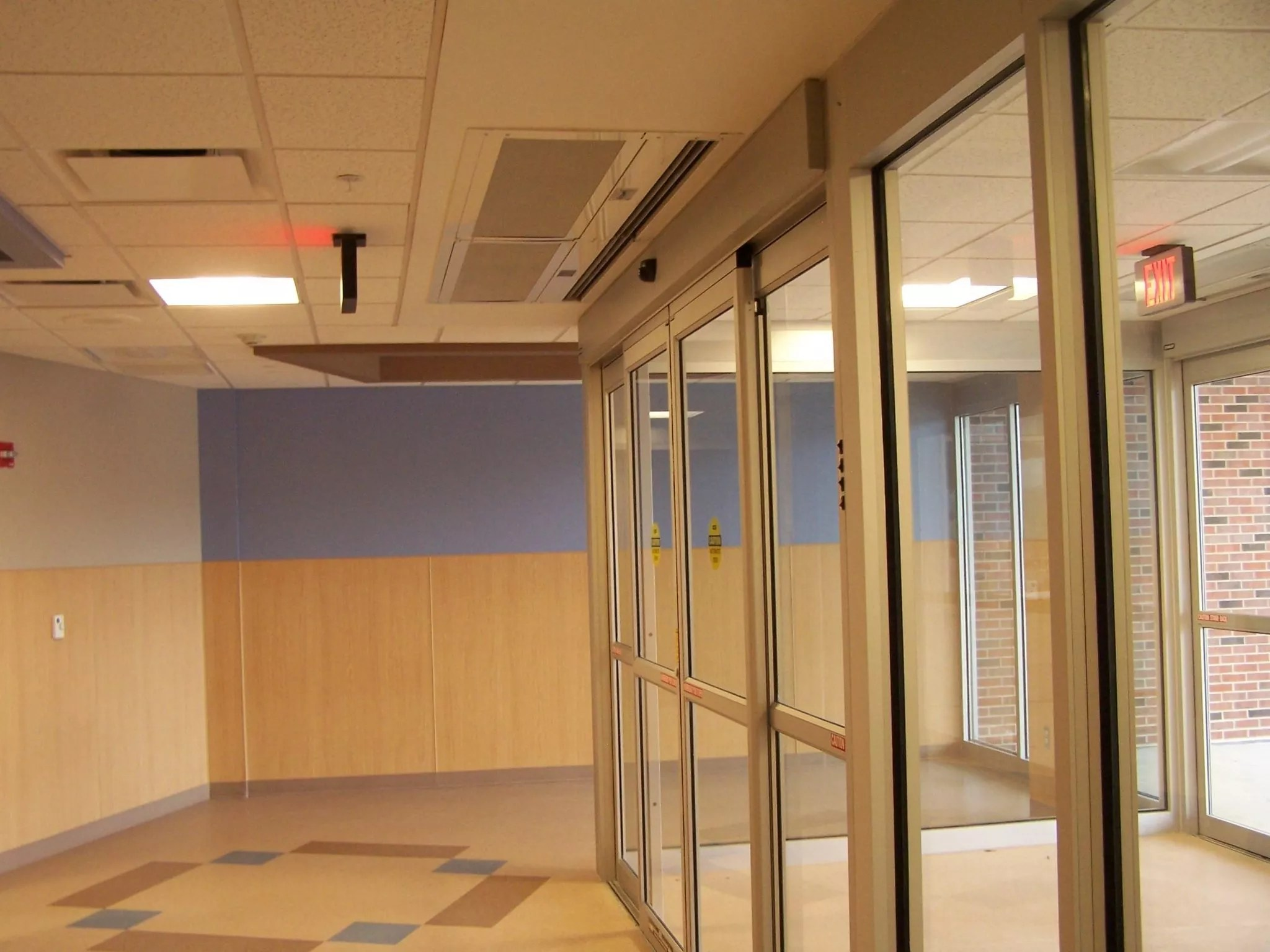 Architectural Air Curtain  Recessed 12 Product ARC12