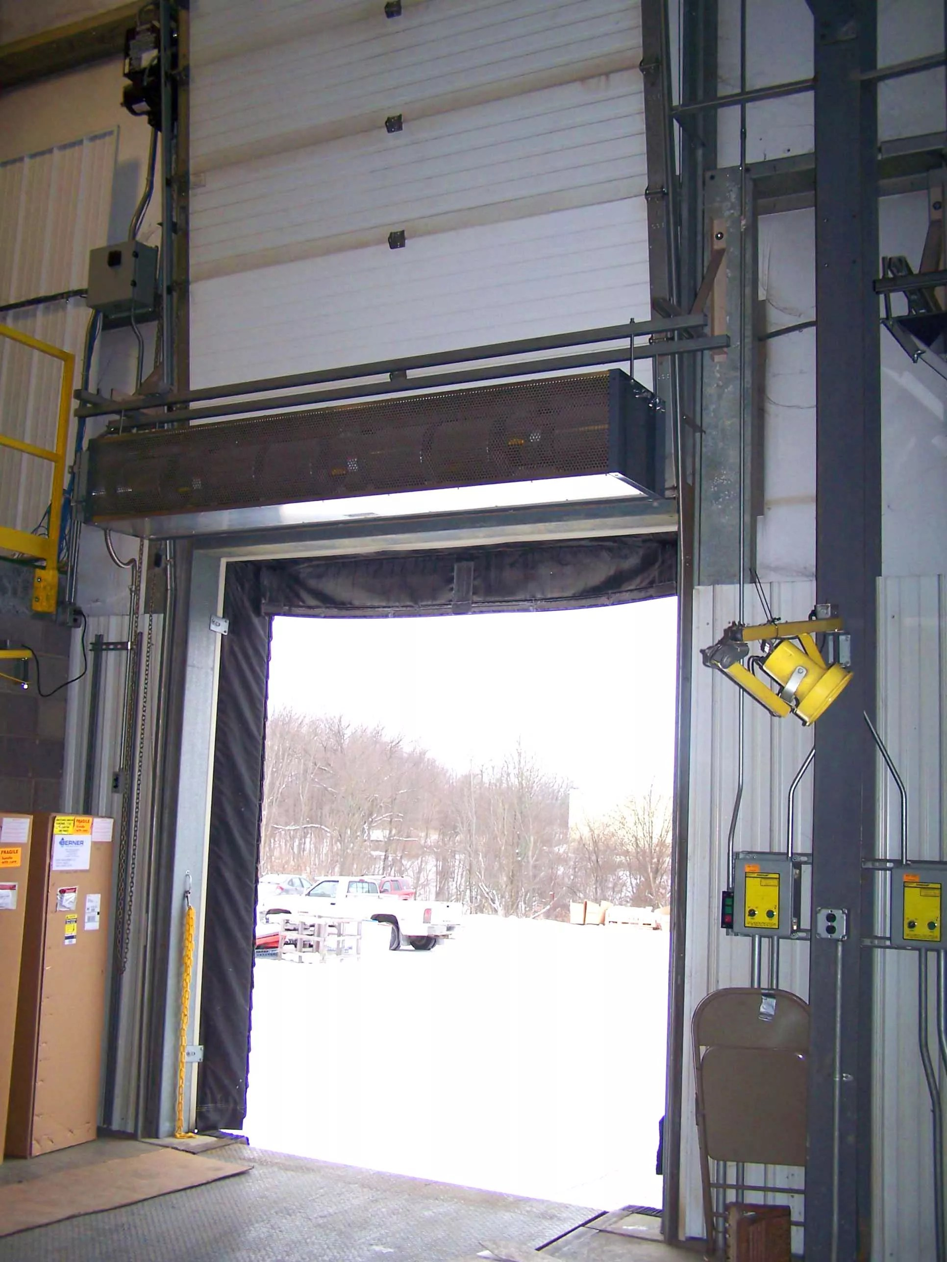 Industrial Air Curtain  Industrial Direct 12 Product IDC12  Berner