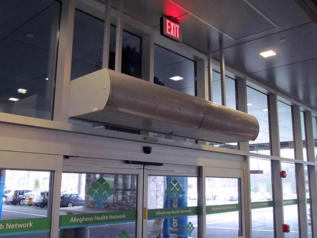 Berner International  1 for Air Curtains  Air Doors