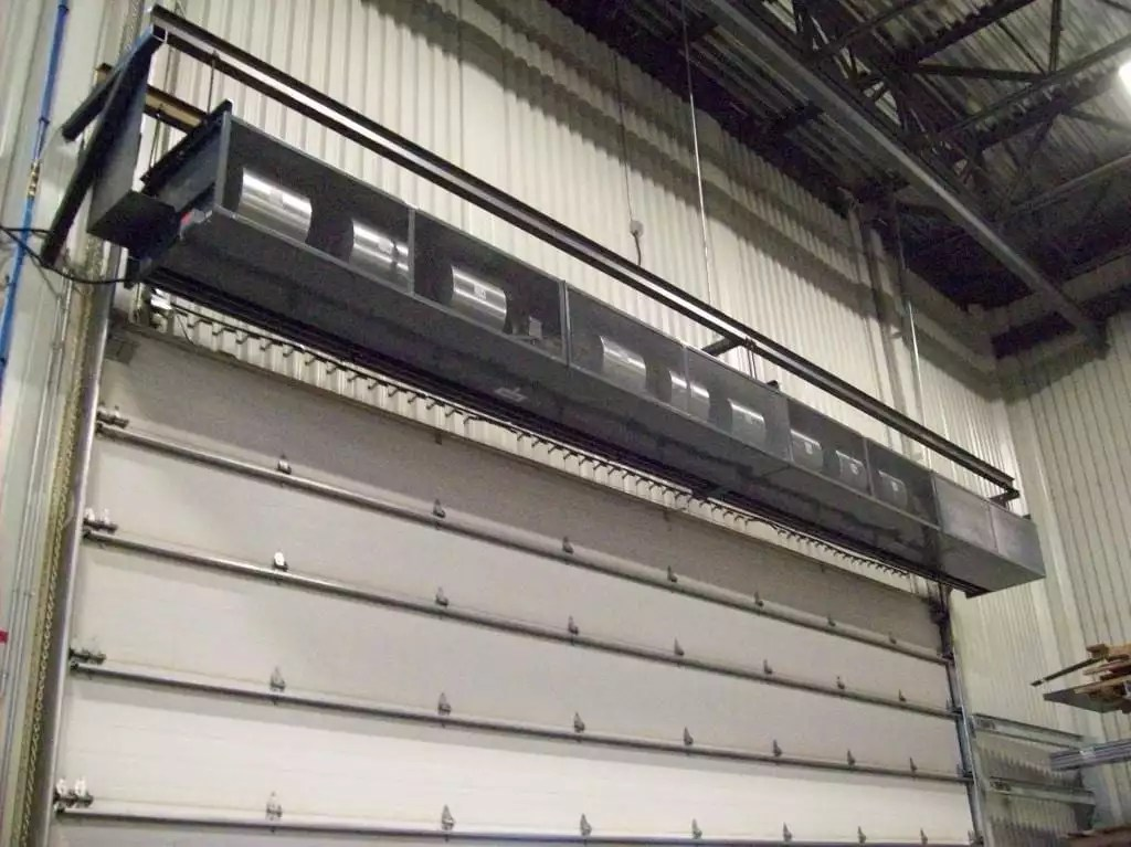 Industrial Direct Drive 16  20 Air Curtain  Photo