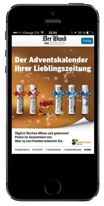 iPhone Interstitial iApp-derbund.ch