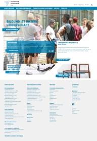Responsive Webseite 2