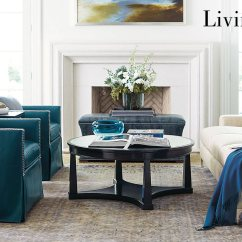 Bernhardt Living Room Furniture With Sectional And Fireplace Tv