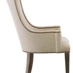 Leather Side Chair Camp High Host Arm | Bernhardt