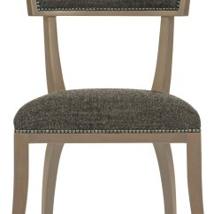 Chair Stool Difference Big Round Swivel Dining Side Bernhardt