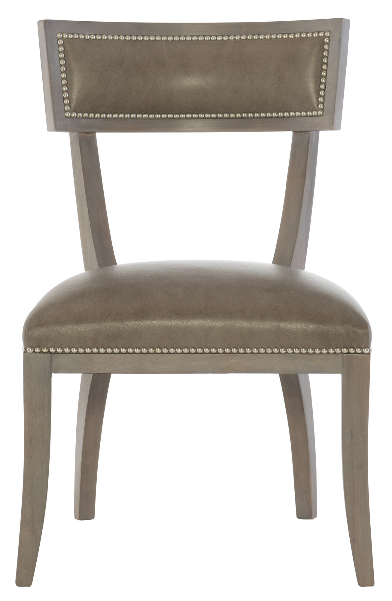 Bernhardt Chair Leather Dining Side Chair Bernhardt