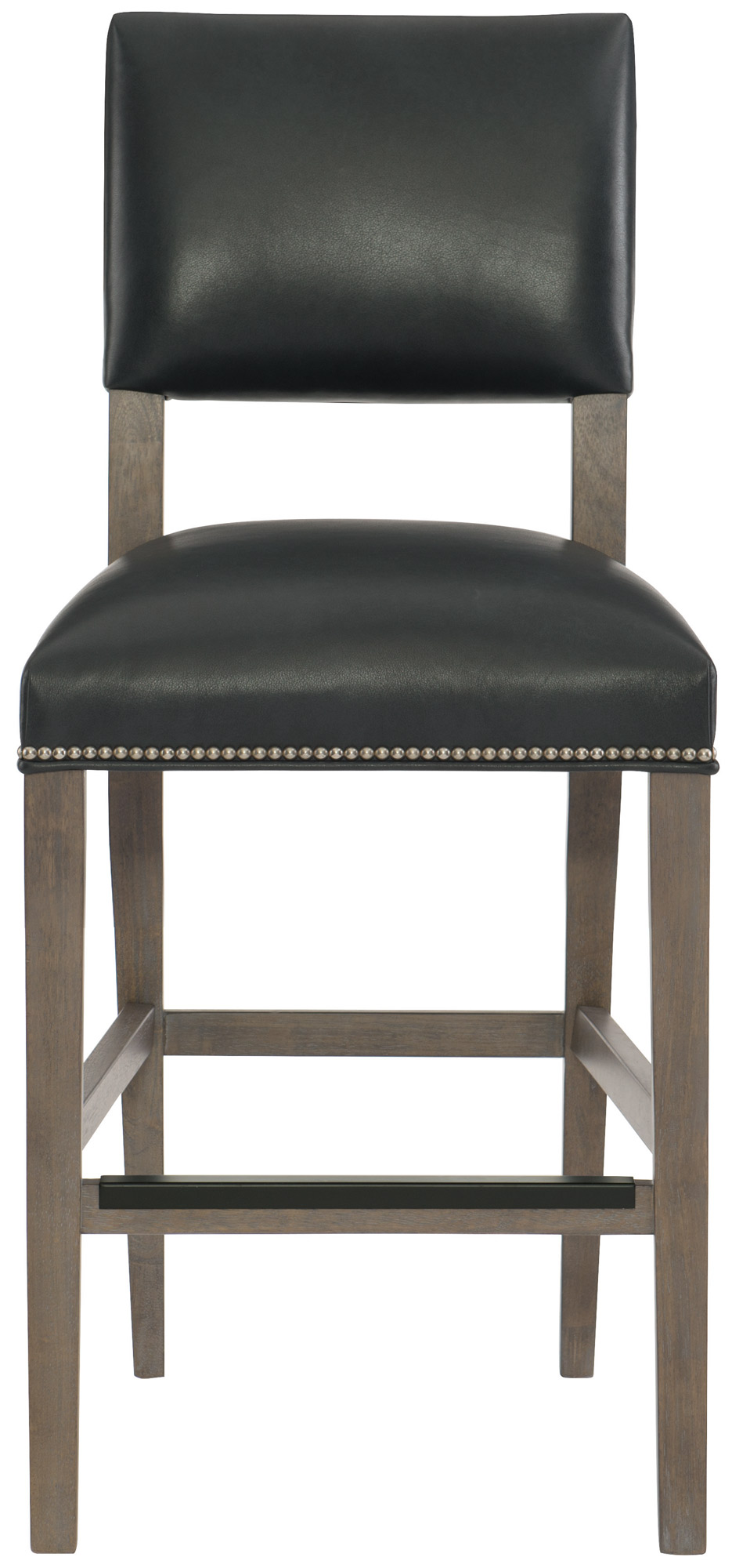 Leather Counter Stool  Bernhardt