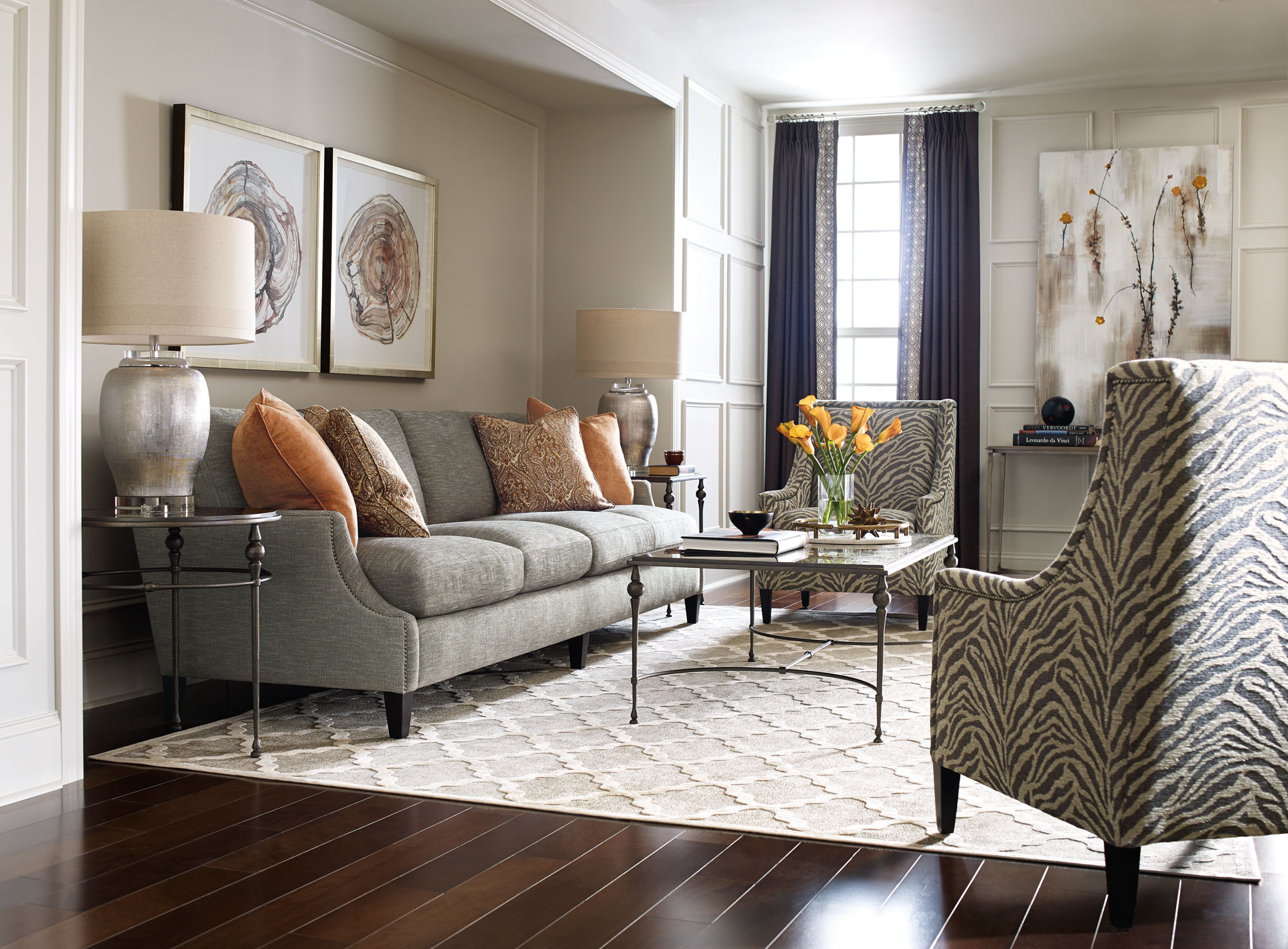 bernhardt living room furniture small with tv in corner tristan newland crawford mindy