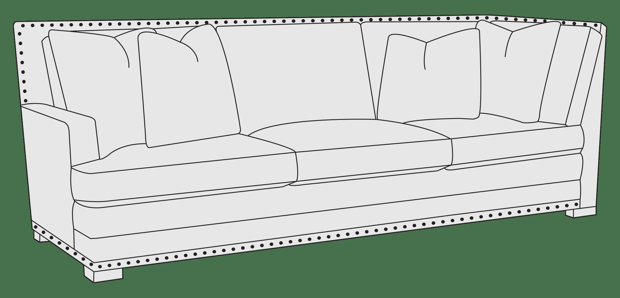 bernhardt cantor sectional sofa how to fix a spring left arm return hospitality