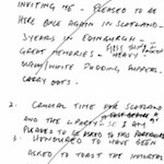 Burns speech notes