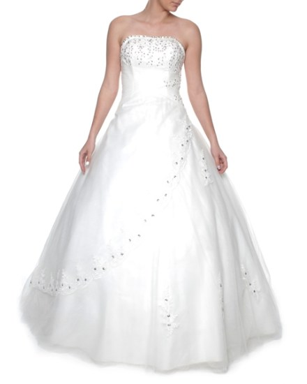 Wedding dresses snow white and seven dresses snow white strapless princess wedding gown size s m junglespirit Choice Image