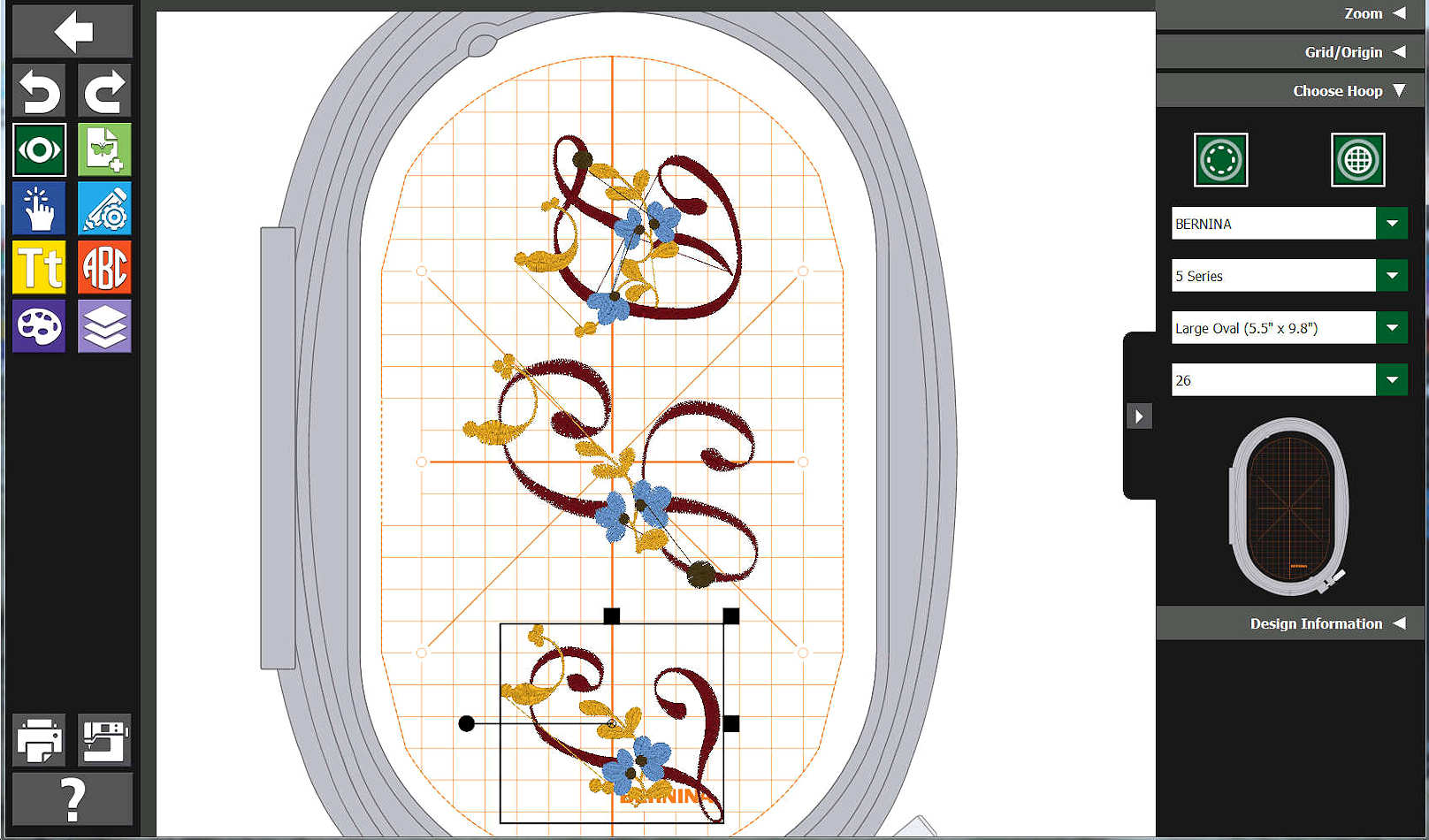 hight resolution of we hope the person saves the on the machine design onto the embroidery machine s usb connection and returns such to us for use with bernina toolbox