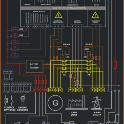Generator Wiring Diagram Pdf 2000 Toyota Camry Parts Amf Controller Be142 – Genset
