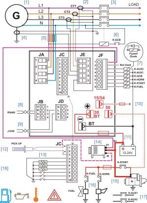 generator controller wiring diagram – Generator Controllers